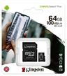 MEMORY CARD MICRO-SD 64GB KINGSTON CANVAS UHS-I