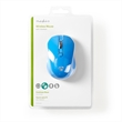MOUSE OTTICO WIRELESS BLU