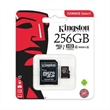 MEMORY CARD MICRO-SD 256GB KINGSTON CANVAS