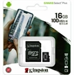 MEMORY CARD MICRO-SD 16GB KINGSTON CANVAS UHS-I