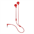 AURICOLARE STEREO ROSSO UNIVERSALE AUX 3,5MM - EASY POD