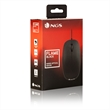MOUSE USB OTTICO FLAME BLACK 1000 DPI
